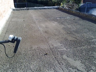 Four Oaks Roofing Felt To Rubber Roof