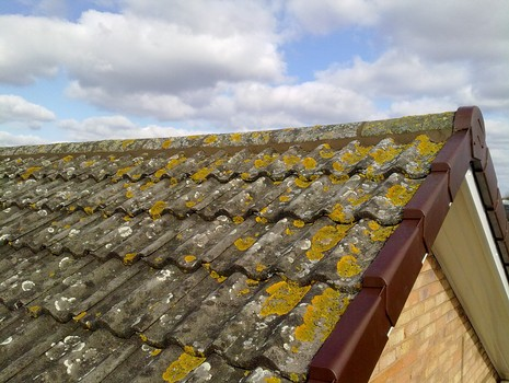 Four Oaks Roofing - Ridge Tiles Removed and Rebedded